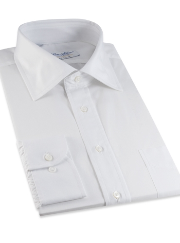 White Broadcloth Shirt