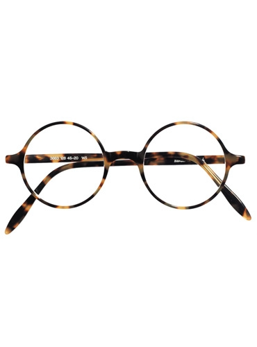 Silver Line Round Frame in Light Tortoise