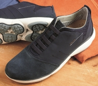 The Geox Performance Sneaker in Navy