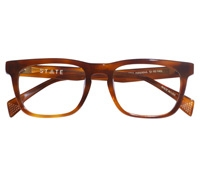 Wentworth Bold Rectangular Frame in Havana