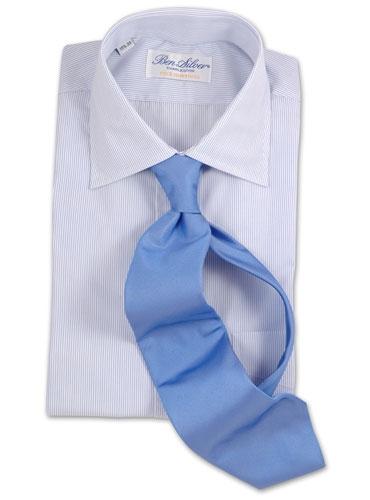 Solid Cobalt Silk Tie