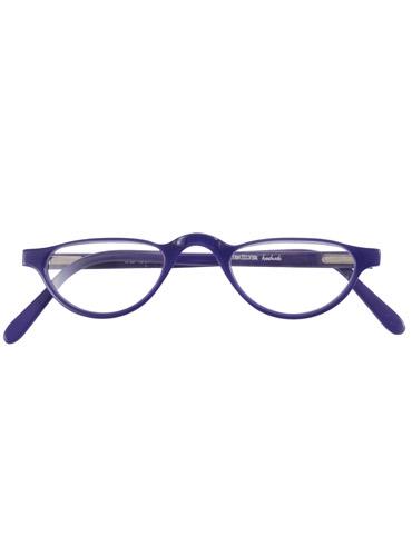 Silver Line Half Moon Reader in Purple, 3.00 lenses