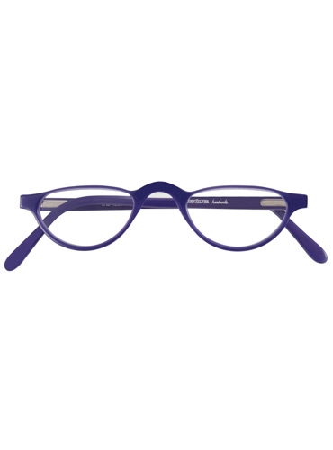 Silver Line Half Moon Reader in Purple, 3.00 lenses