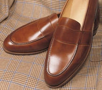 The Wellington Loafer in Tan