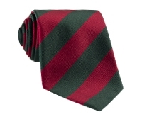 Red/Green Block Stripe