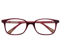 Semi-Square Children's Frame in Red Stripe
