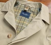 Lightweight Classic English Raincoat