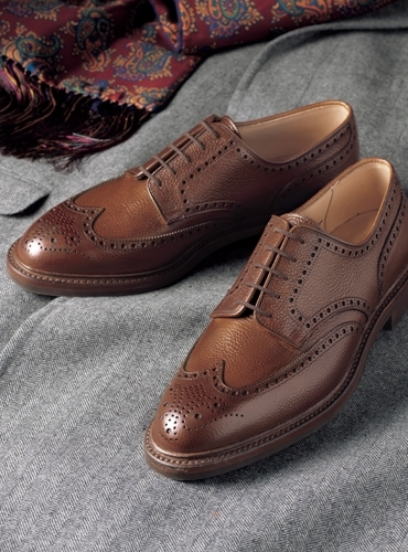 The Pembroke Blucher in Tan, Size 13