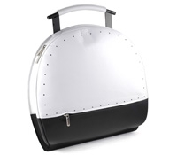Black and White Bowling Bag