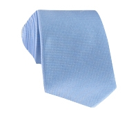Silk Basketweave Tie in Sky