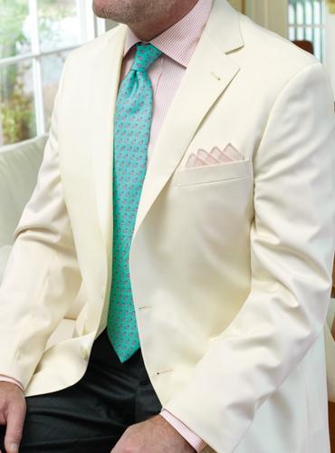 Cream Tropical Wool Sport Coat