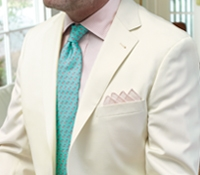 Cream Tropical Wool Sport Coat