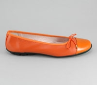 Patent Tip Flat Orange