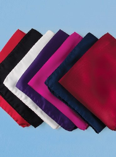 Silk Solid Pocket Squares