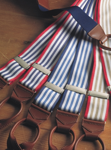 Oxford Triple Stripe Braces