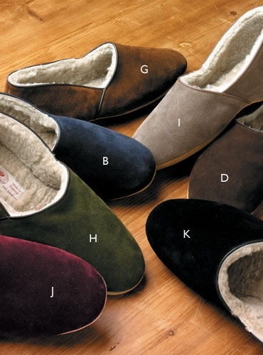 The Anton Shearling Slippers