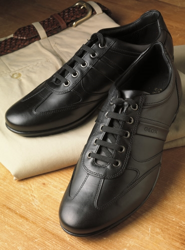 The Geox Walking Shoe in Black