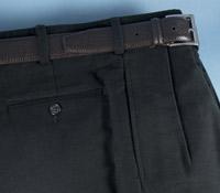 Moleskin Trousers in Black