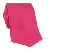 Tie Printed Solid Strawberry