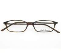 Thin Rectangular Frame in Dark Tortoise