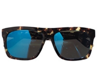 Large Rectangle Sunglasses in Tortoise