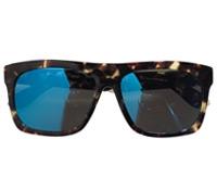 Large Rectangle Sunglasses in Tortoise