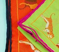 Silk Animal Print Pocket Squares