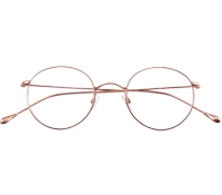 Round Wire Frame in Rose Gold
