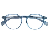Elston Semi-Round Frame in Seaglass