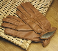 Nappa Leather Cashmere Lined Gloves