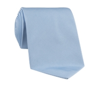Woven Silk Solid Tie in Frost
