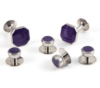 Octagon Formal Set in Purple
