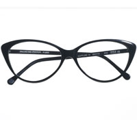 Bold Cat-eye Frame in Black