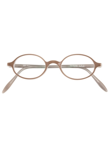 Oval Frame in Taupe
