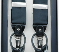 Black Ribbon Braces