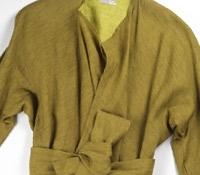 Marie Meunier Linen Buenos Aires Jacket in Green