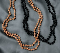 Long Glass Beaded Necklaces