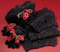 Youth Wool Blend Hat, Scarf and Gloves