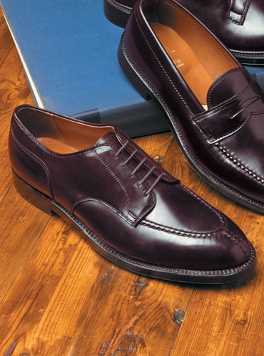 The Alden Split Toe Blucher in Cordovan