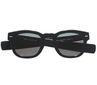 Bold Semi-Square Sunglasses in Black