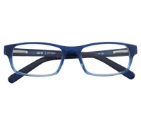 Slim Rectangular Children's Frame in Navy and Sky