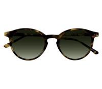 P3 Sunglasses in Tortoise with Green Lenses