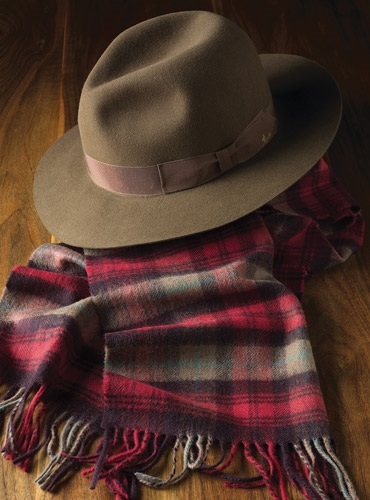 Barbisio Traveler Hat in Cigar