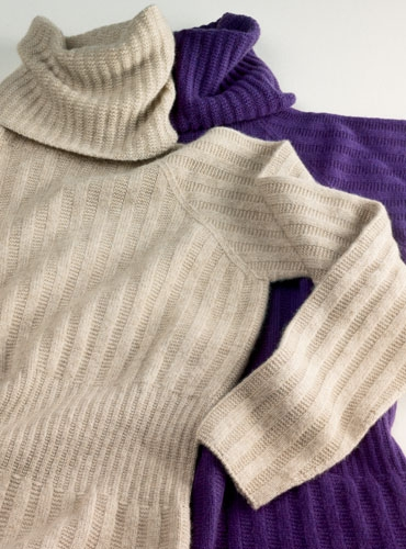 2-ply Ribbed Cashmere Sweater