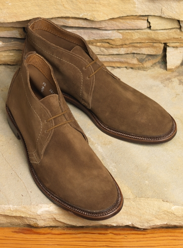 The Alden Chukka Boot in Snuff Suede