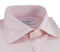 Shirt White/Pink Thin Stripe
