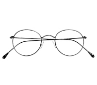 Nearly Round Metal Frames in Brushed Nickel