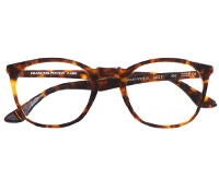 Retro Square Frame in Dark Tortoise