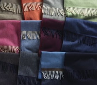 Solid Lambswool Scarves