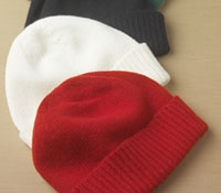 Cashmere Turn-up Hat